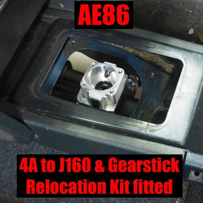 Gearbox adapter kit: 4AGE / 7A to J160-G (1GFE) -885
