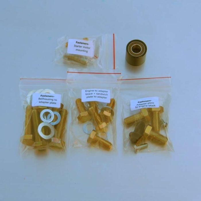 Gearbox adapter kit: 4AGE / 7A to J160-G (1GFE) -868
