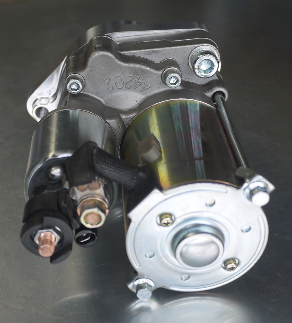 4AGE & T50 - Starter motor upgrade adapter