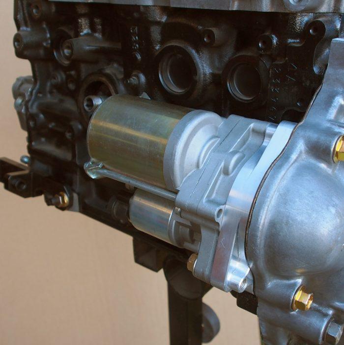 4AGE & T50- Starter motor upgrade adapter-783