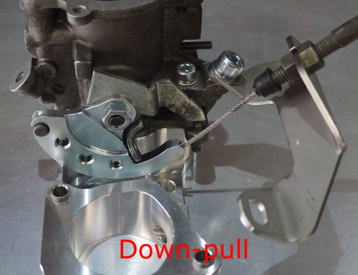 Throttle linkage kits to suit 4age 20V throttles-485