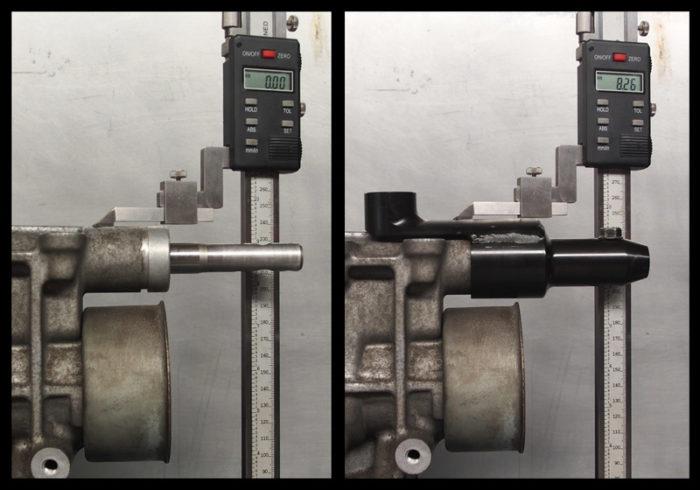 J160 gearbox- Gear shifter relocation kit-698