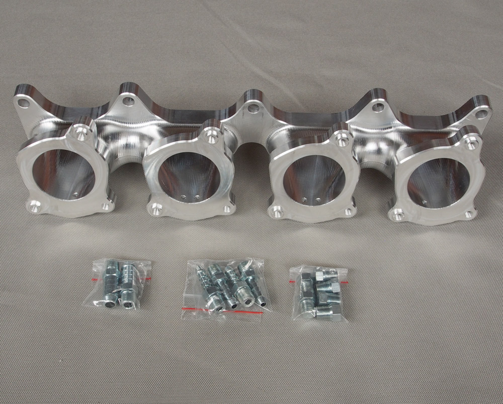 Toyota 4AGE 20V Throttle Body Plate /& 4AGE Blacktop 50mm Velocity Stack Kit