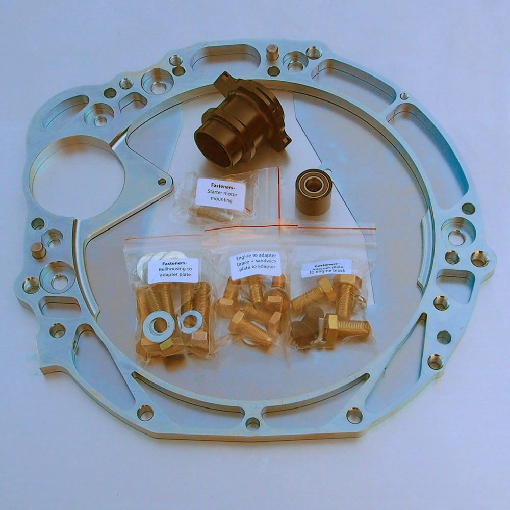 Gearbox adapter kit: 4AGE / 7A to J160-G (1GFE)