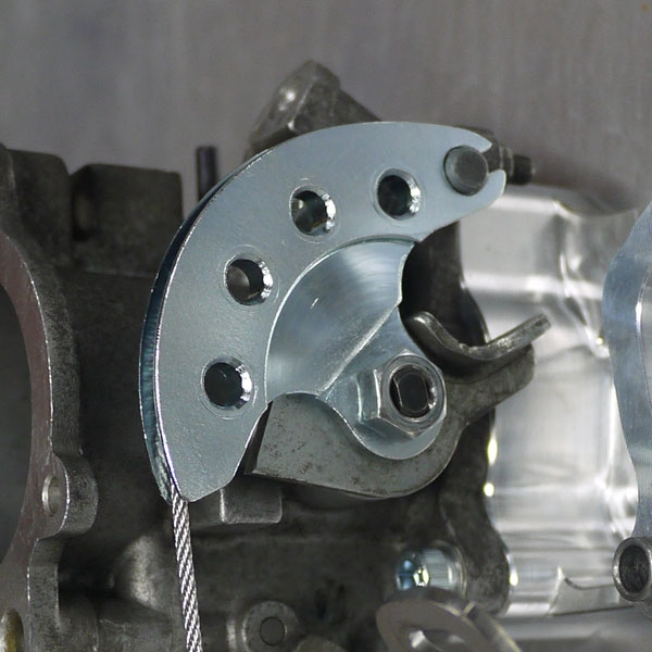 Throttle linkage install